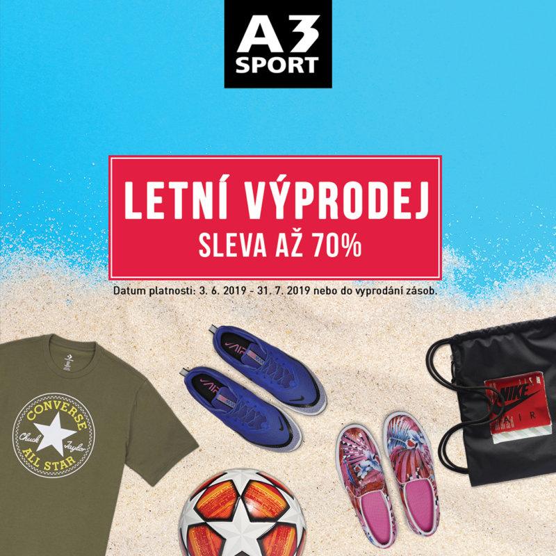 Letní výprodej A3 sport Homepark Zličín
