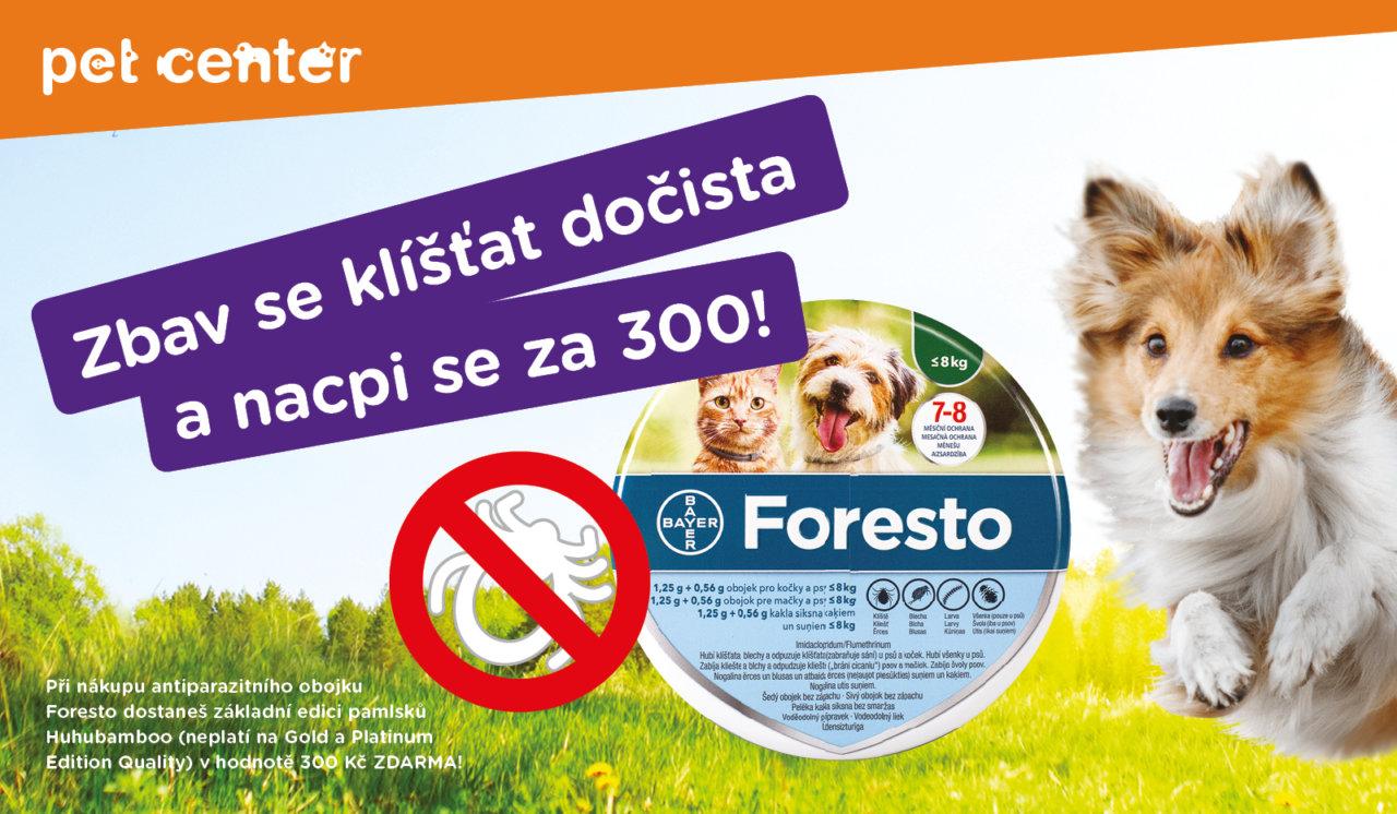 Stop klíšťatům Homepark Zličín petcenter