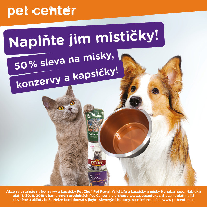 Pet Center akce Homepark Zličín