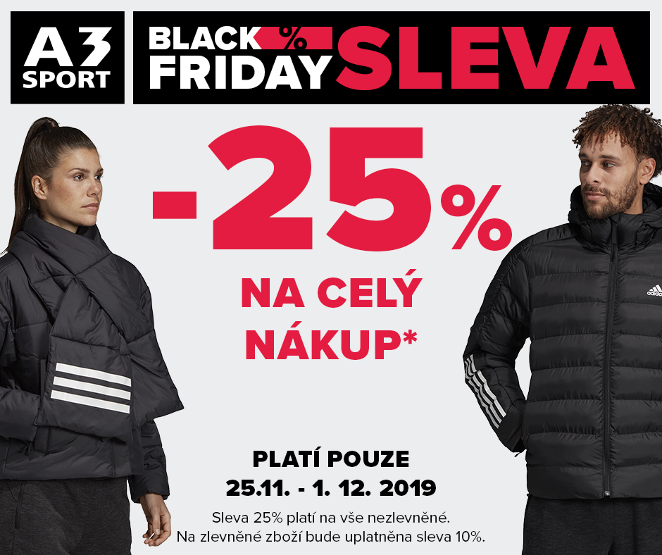 Black Friday A3 SPORT Homepark Zličín