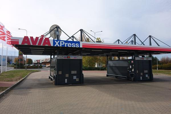 Avia XPress čerpací stanice Homepark Zličín