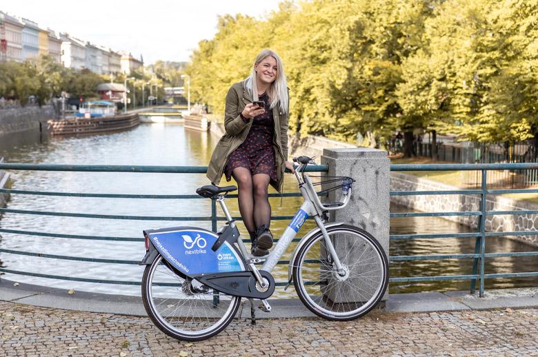 Bikesharing Nextbike Homepark Zličín Ikea