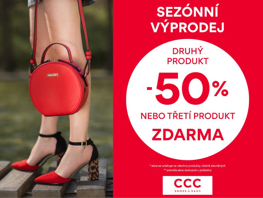 Sezonní výprodej v CCC shoes Homepark Zličín