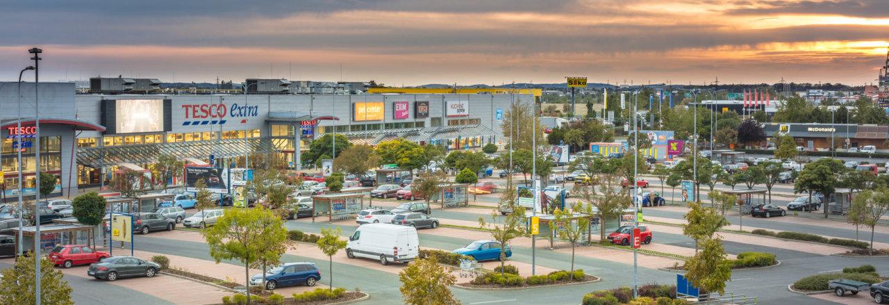 Homepark Zličín oblíbený retail Park v Praze