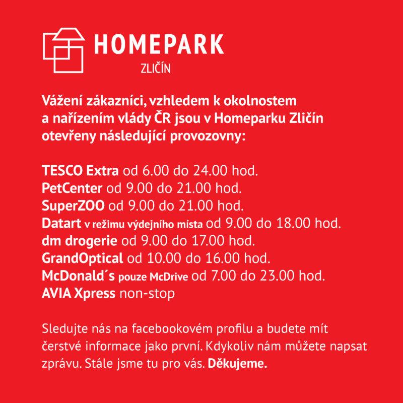 Homepark Zličím důležité informace v souvislosti s koronavirem covid19